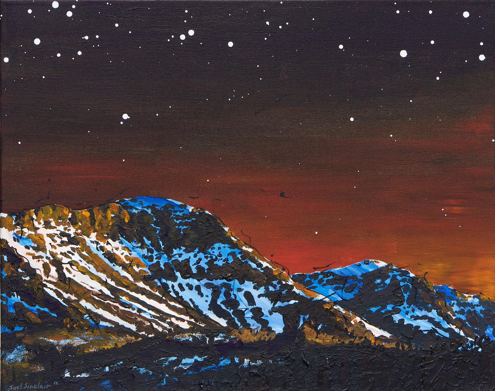 Evening Blues - 2012 - 16x20