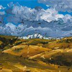 Rolling Peaks - 2012 - 9x12