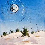 Winter Moon - 2009 - 15x10