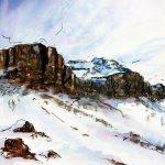 Snow Ridge - 2010 - 22x15